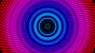 Circular, Multi-Coloured, Rapid-Motion, Loopable Background