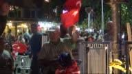 Citizens gather at Cumhuriyet square to protest the failed military coup attempt by Gulenist Terror Organization/Parallel State Structure and to show...