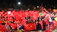 Citizens gather at the square to protest the failed military coup attempt by Gulenist Terror Organization/Parallel State Structure and to show...