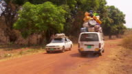 Citizens of Yei South Sudan evacuating hollowed by shots of abandoned houses