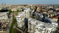 City Luftbild (Hintergrundgeräusche video)