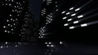 City at night animation