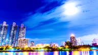 City Tag zur Nacht.
