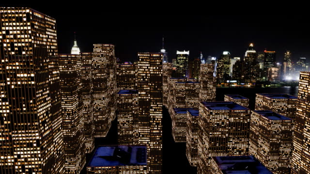 HD: 3D City Flyover