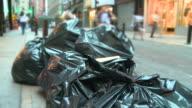 HD TIME-LAPSE: City Garbage