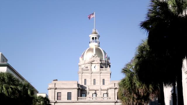 City Hall in Savannah, Georgia, USA
