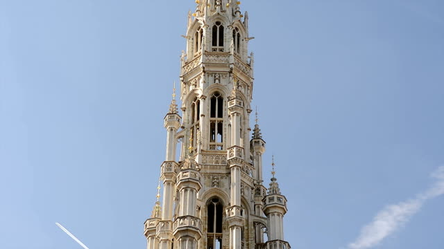 City Hall Stadthuis at the Grand Place in Brussels