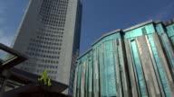 City Highrise, New Augusteum, Paulinum, Leipzig, Saxony, Germany