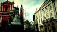 City Life at Ljubljana ,Slovenia