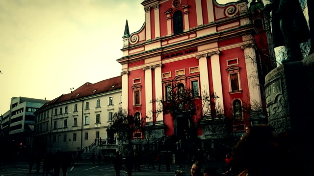 City Life at Ljubljana ,Slovenia