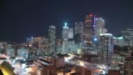 HD TIME-LAPSE: City lights of Toronto at night