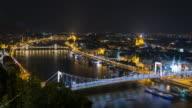 City of Budapest at night