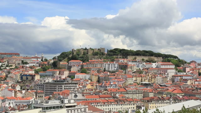 City of Lisbon on a summer day, Portugal