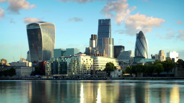 De Skyline van de City of London