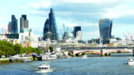 T/L City Of London angesehen Von Westen (4 k UHD zu/HD