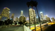 City of Los Angeles bei Nacht