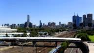 Stadt Melbourne, Australien