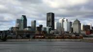 City of Montreal Zeitraffer