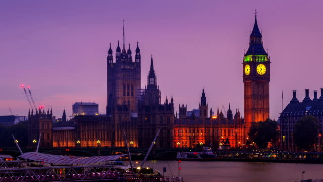 City of Westminster day to night, London