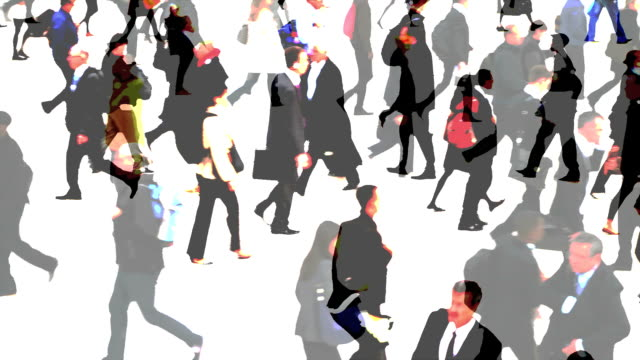 City People Walking (Composite)