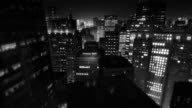 City scene by night (preview darker than video)