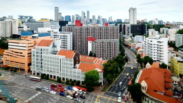 City Scenery of Singapore