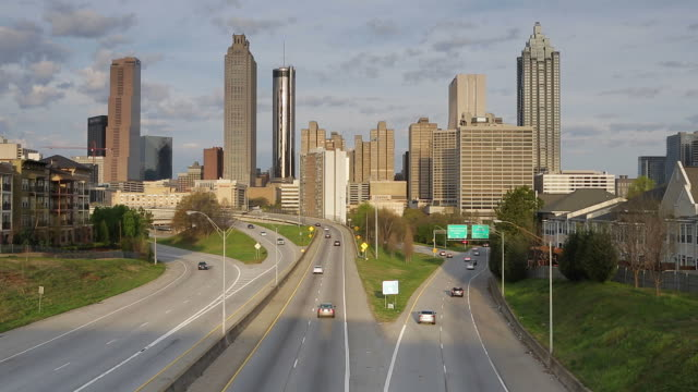 Union City (GA) United States  city photos : City Skyline Atlanta Georgia United States Of America Stock Footage ...
