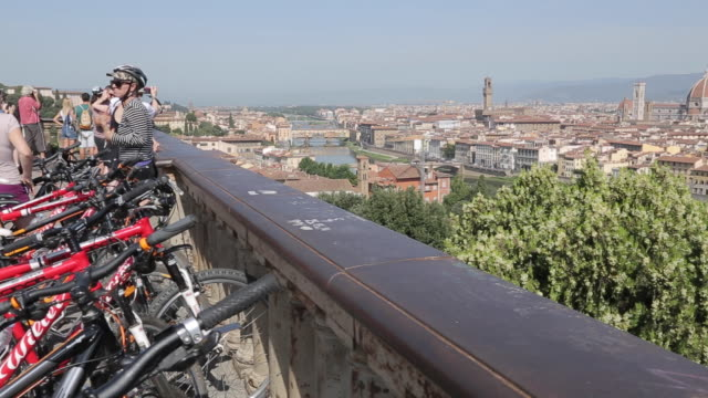City Skyline from Piazzale Michelangelo, Florence, Tuscany, Italy, Europe