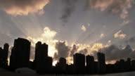 City Sun Set