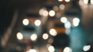 city traffic night scene