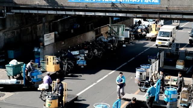 City Traffic Tokyo Fish Market