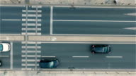 City Traffic with Aerial View
