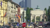 City View Of Munich Time Lapse