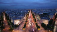 WS HA Cityscape at night / Paris, France