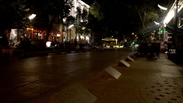 Cityscape in the night