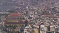 AERIAL WS Cityscape / Lisbon, Portugal