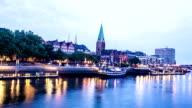Stadtansicht von Bremen