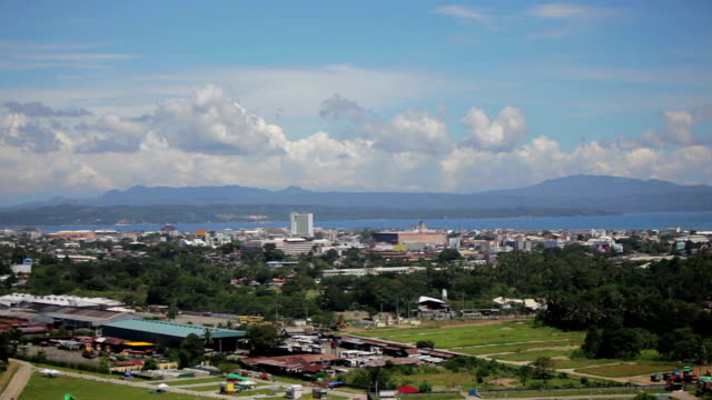 Cityscape of Davao Philippines Horizon - a