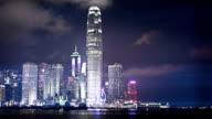 WS  R/F Cityscape of Hong Kong / Hong Kong