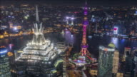T/L Cityscape of Shanghai, China