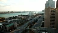 Cityscape time lapse