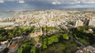 4K Cityscapes & Establishers: 4K Timelapse of east Sydney with storm and rainbow
