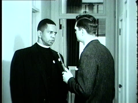 WGN Civil Rights Activist and leader of TWO Reverend Brazier says Chicago School Board in determined to maintain racially segregated schools in 1962