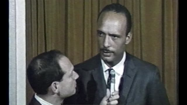 WGN Civil Rights Leader Al Raby Questions MLK's Motives For Cicero March in Chicago on September 5 1966