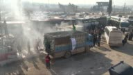 Civilians evacuated from the east part of Aleppo that had been under siege by Assad Regime forces and its supporter foreign terrorist groups arrive...