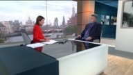 Claims that evidence links Yorkshire Ripper with some unsolved murders in London ENGLAND London GIR INT Chris Clark LIVE interview SOT