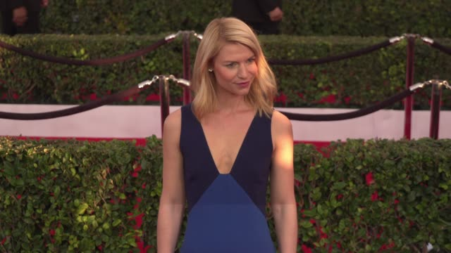 Claire Danes at 22nd Annual Screen Actors Guild Awards Arrivals in Los Angeles CA