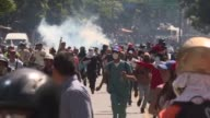 Clashes broke out on Friday in the Venezuelan capital after a controversial new Venezuelan assembly packed with allies of unpopular President Nicolas...