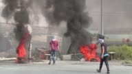 Clashes erupted between Palestinians and Israeli forces near Ramallah on Tuesday as Palestinans called for a day of rage