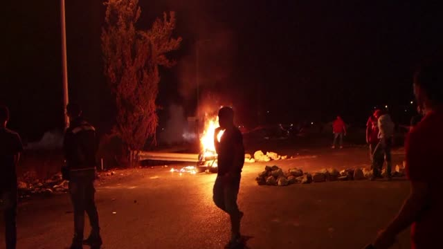 Clashes erupted during the night near the DCO check point in Ramallah and Qalandia check point connecting Jerusalem to the West Bank as Israel took...